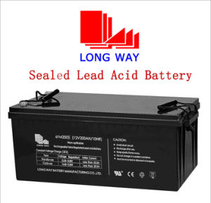 Wind Power Solar UPS Sealed Rechargeable Lead Acid Battery pictures & photos