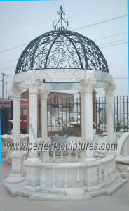 Antique Garden Pavilion with Stone Marble Granite Sandstone Limestone (GR029) pictures & photos