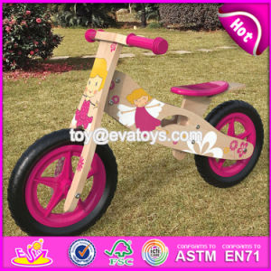 Best Original Work Kids Ride on Wooden Balance No Pedal Bike for Sale W16c174 pictures & photos