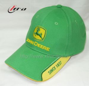 Green Embroidery Racing Cap (XT-0751) pictures & photos