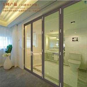 Aluminium Commercial Exterior Glass Folding Door Design