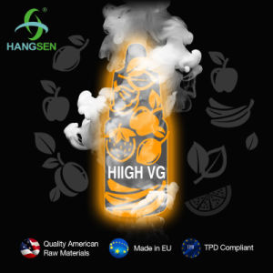 Hangsen High Vg 70/30 E Liquid Creat Huge Vapour pictures & photos
