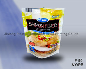 Sand-up and Zipper Seafood Bags Colorful Plastic Bags pictures & photos