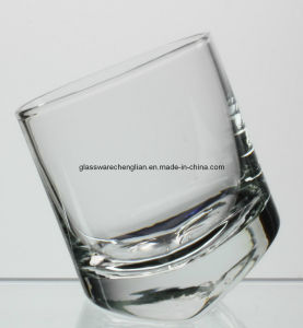 Clear Hand-Made Rock Shot Glass (B-STG06) pictures & photos