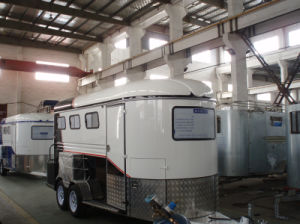 3 Horse Trailer With Red Edge pictures & photos