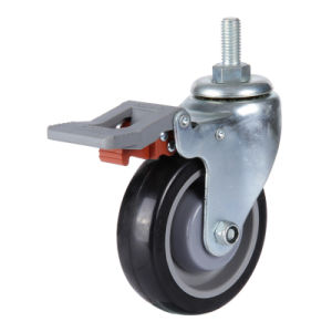 PU Caster Swivel Wheel Ball Bearing pictures & photos