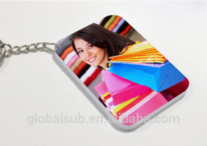 Plastic Polymer DIY Keychain with Sublimation Blanks pictures & photos