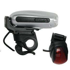 Dynamo LED Bicycle Light & Mobile Phone Charger (LVC-S3083)