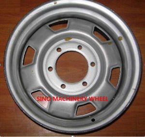 15X7 Steel Wheel with High Quality pictures & photos