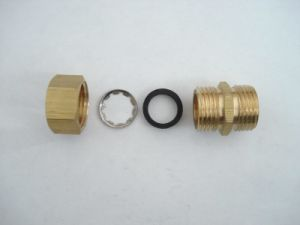 59-1 Brass Pipe Fittings with O Rings pictures & photos