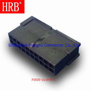 Dual Row Female Electronic Terminal Housing Connector pictures & photos