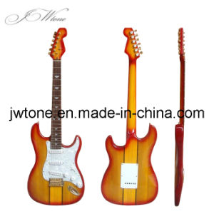Neck Through Body Design High Quality St Electric Guitar pictures & photos