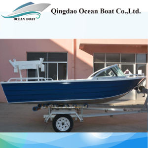 42m New Design Runabout Aluminum Pleasure Fishing Boat