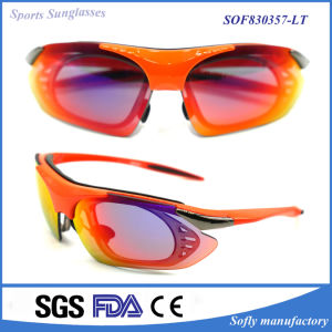 New Fashion Triumph - Performance Sports Sunglasses with Non-Slip Nose Pads pictures & photos