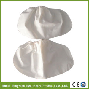 High Quality Thick Waterproof CPE Shoe Cover pictures & photos