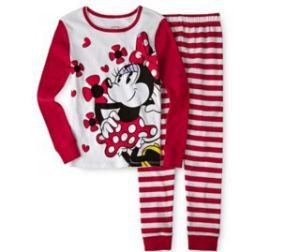 Red Minnie Mouse 2-PC. Pajamas