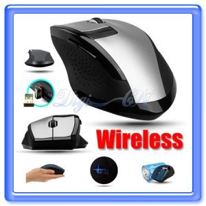Boust 6 Key Wireless USB Optical Mouse to Computer Laptop (BST-AEK)