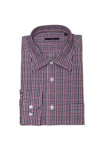 Men′s Check Fashion Shirt 100% Cotton HD0046