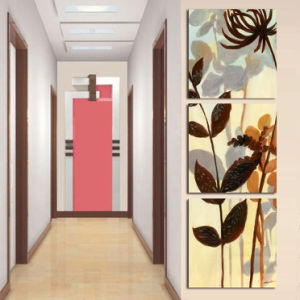 3 Panel Wall Art Oil Painting Flowers Painting Home Decoration Canvas Prints Pictures for Living Room Mc-256 pictures & photos