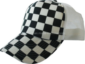 Promotional Print Snapback Leisure Mesh Trucker Hat (TRT057) pictures & photos