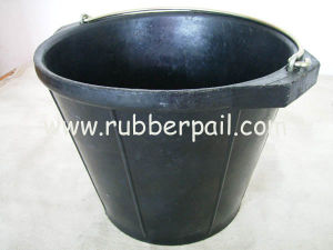 Reclyed Rubber Bucket, Construction Bucket (816, 816F)
