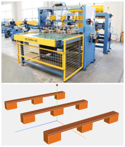 Automatic Machine to Make Wooden Pallet for Sale pictures & photos