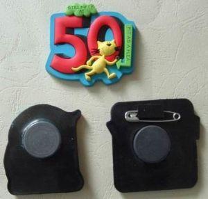 Soft PVC Fridge Magnet (chzz-fm-5002)