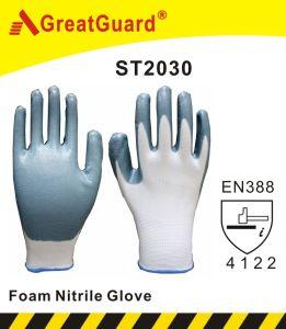 Nitrile Dipped Garden Glove pictures & photos