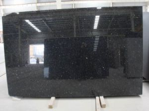 China Black Galaxy Granite Tile, Bar Top Granite pictures & photos