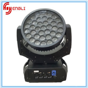 37PCS RGBW with CREE Lamp LED Moving Head Wash Light pictures & photos