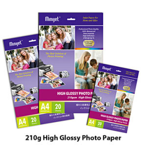 High Glossy Cast Coated Inkjet Photo Paper 115~260g