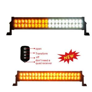 72W Amber White LED Light Bar with Controller pictures & photos