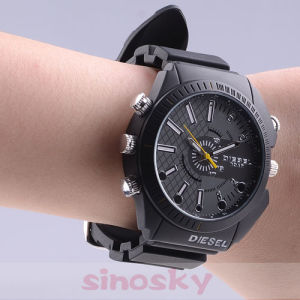 Waterproof 1080p Digital Night Vision Watch Camera (QT-DV102) pictures & photos