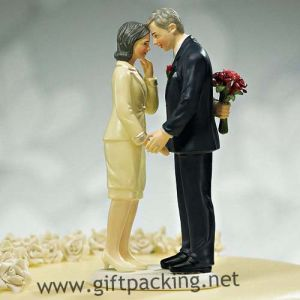 Still in Love Mature Couple Wedding Resin Craft