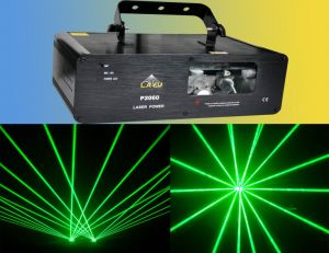 Two-Beam Green Laser Light for Laser Display (P2060)