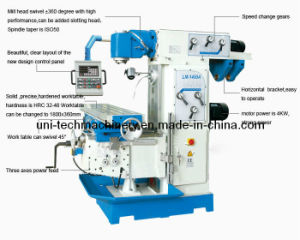 Heavy-Duty High Precision Milling Machine (LM1450A) pictures & photos