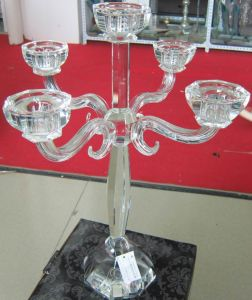 Crystal Candle Holder with Five Posters...., pictures & photos