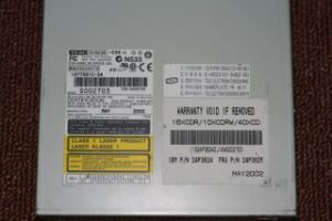 Laptop DVD-RW for HP V4000