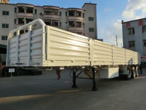 40 Feet 3 Axles 5-Compartment Walled Cargo Trailer pictures & photos