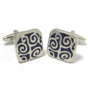 Men′s High Quality Metal Cufflinks (H0013) pictures & photos