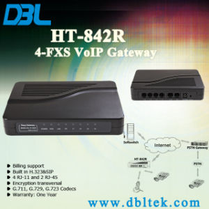 VoIP Gateway 4 FXS Ports pictures & photos