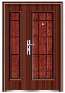 Metal Security Door (FX-A0111) pictures & photos