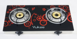 2 Burner Glass Gas Stove (YD-2GT01)
