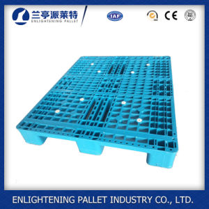 Open Deck Rack 1ton Euro HDPE Plastic Pallet for Sale (1200X800mm) pictures & photos