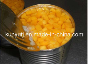 Canned Yellow Peach Dices with High Quality pictures & photos