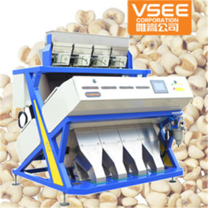 Vsee New Type 5000+Pixels Lotus Seeds CCD Color Sorting Equipment pictures & photos