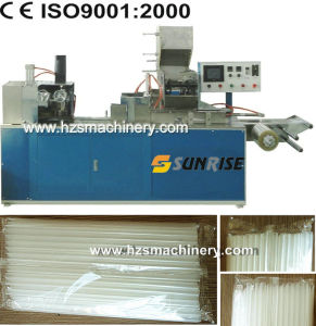 Group Bag Straw Packing Machine (50-200 pieces per bag) pictures & photos