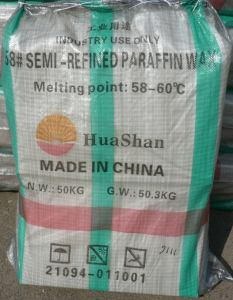 Semi Refined Paraffin Wax 58/60 pictures & photos