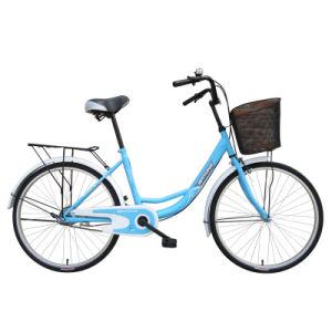"""24"""" Steel Frame Single Speed City Bike"""