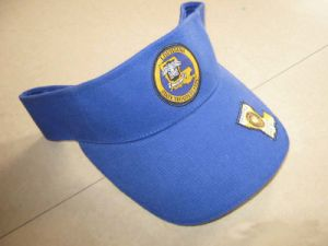 Popular Cotton Twill Embroidery Visor Cap